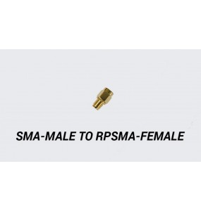 SMA-MALE to RPSMA-FEMALE adapter