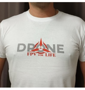 "T-Shirt ""FPV for Life"""