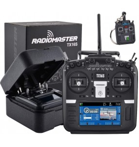 RadioMaster - TX16S HALL + version tactile